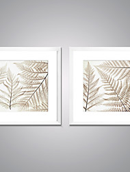 Framed Canvas Prints  Leaves Picture Print on Canvas Modern Artworks for Wall Decoration