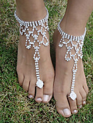 The Bride Diamond Anklets