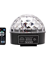 U'King® DMX512 Crystal Magic Ball Stage Light Auto DMX Sound Mode with Remote Control 1pcs