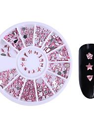 1box Unha Arte Decoração strass pérolas maquiagem Cosméticos Designs para Manicure