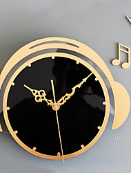 Modern/Contemporary Casual Nautical Holiday Wall Clock,Novelty Metal Wood 30 Indoor/Outdoor Indoor Clock