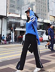 Masculino Simples Cintura Baixa Micro-Elástico Chinos Calças,Delgado Poás,Paetês