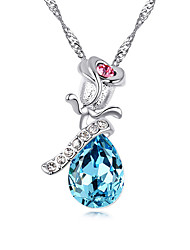 Women's Pendant Necklaces Jewelry Drop Chrome Cute Style Personalized Jewelry For Congratulations Thank You Gift 1pc