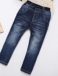 Boys' Casual/Daily Solid Jeans-Cotton Fall