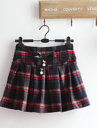 Women's Casual/Daily Mini Skirts,Cute A Line Knitting Geometric Spring