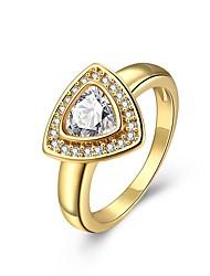 Heart Love Crystal Austrian Rhinestone Wedding Finger Ring for Women Fashion Jewelry