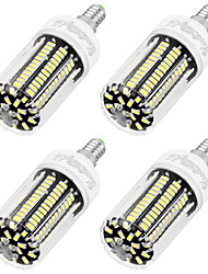 YouOKLight 4PCS E14 8W AC220-240V 136*5733 SMD LED Cold White High Luminous Corn Bulb Spotlight LED Lamp Candle Light for Home Lighting