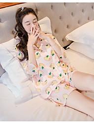 Pijama Misto de Algodão