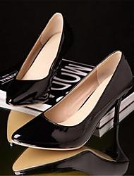 Damen-High Heels-Lässig-PU-Stöckelabsatz-Komfort-