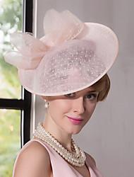 Lace Flax Headpiece-Wedding Special Occasion Outdoor Fascinators Hats 1 Piece