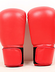 Boxing Gloves for Boxing Full-finger Gloves Protective PU Red Blue