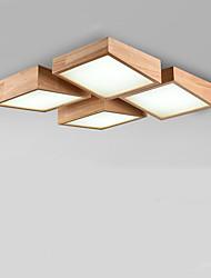 Montage du flux ,  Contemporain Traditionnel/Classique Peintures Fonctionnalité for LED Bois/BambouSalle de séjour Chambre à coucher