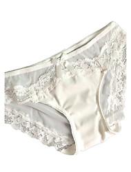 Lace Solid C-strings PantiesMesh