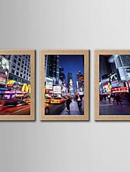 Estampados Fotográfico Famoso Paisagem Clássico Realismo,5 Painéis Panorâmico Vertical Impressão artística Decoração de Parede For