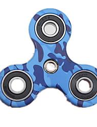 Toupies Fidget Spinner à main Jouets Tri-Spinner Métal ABS Plastique EDCPour le temps de tuer Focus Toy Soulagement de stress et