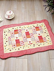 Country Cotton Area Rugs(40*60cm)(Random Color)