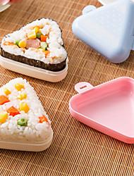 2 pièces Boules de riz Accessoire à Sushi For Pour Ustensiles de cuisine Pour le riz PlastiqueHaute qualité Multifonction Creative