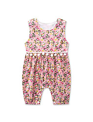 Newborn Summer Toddler Baby shorts Rompers Girls Clothes Cotton Fashion floral Printing Sleeveless Rose Tassels Clothing