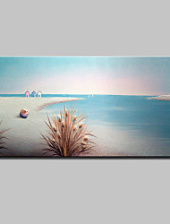 Hand-Painted Modern Abstract Landscape Oil Painting On Canvas Wall Art Picture For Home Decoration Ready To Hang