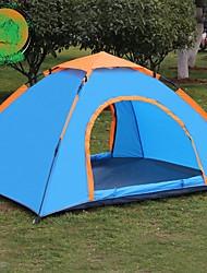 2 Pessoas Único Um Quarto Barraca de acampamentoEquitação Campismo Viajar-Azul
