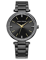 Women's Dress Watch Fashion Watch Quartz Stainless Steel Band Charm Casual Black Silver Gold Rose Gold