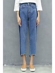 assinar coreano vento bf solta atingiu a cor calças finas feminina pequenas harem pants calças colapso