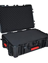 102 L Waterproof Dust Proof Wearable Hardshell Multifunctional Shockproof Black