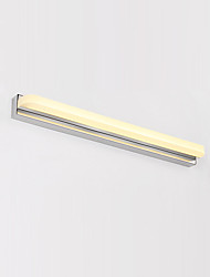 AC 100-240 9 LED Integrated Modern/Contemporary Chrome Feature for LED Bulb Included,Ambient Light Bathroom Lighting Wall Light