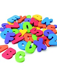 36Pcs Educational Floating Bath Letters & Numbers Stick On Bathroom For Kids Baby Early Educational Tool