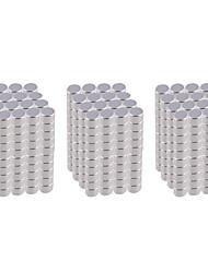 DIY 3*3mm Cylindrical Neodymium NdFeB Magnet(1000PCS) Silver