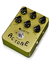 JOYO JF-13 AC Tone Vox Amp Simulator Guitar Effect Pedal Guitarra Parts True Bypass for Musical Instrument