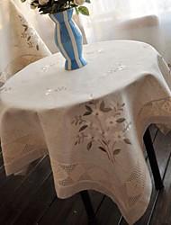 Rectangulaire Fleur Nappes de table , Lin MatérielDécoration Soirée Mariage Mariage Banquet Décorations de Noël Tableau Dceoration