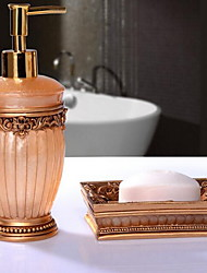 Bathroom Accessory SetResin /Contemporary