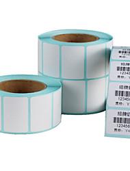 3020 Thermal Stickers Bar Code Printing Paper 30 * 20mm Single Row 500 / Volume 20 Volumes / Box