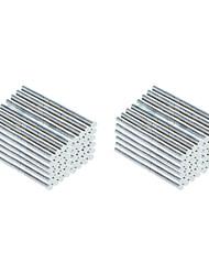 DIY 2.3*3mm Cylindrical Neodymium NdFeB Magnet(2000PCS) Silver