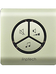 Linbell G1 Kinetic Energy From The Power Generation 433MHZ Wireless Doorbell One Drag One