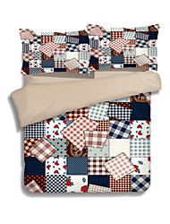 Duvet Cover Sets 3 Stück Polyester Muster reaktive Print Polyester böhmischen Stil 1pc Duvet Abdeckung 2pcs shams