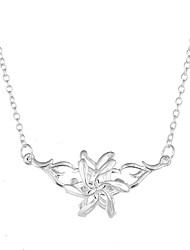 Lureme Silver The Hobbit Galadriel Flower Necklace