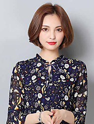Women's Casual/Daily Simple Blouse,Floral V Neck ¾ Sleeve Silk Thin