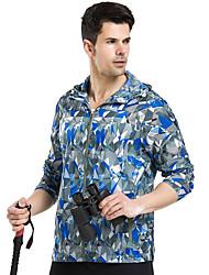 LEIBINDI® Men's Outdoor Sport Hiking Climbing Running Jacket Breathable Windproof Ultraviolet Resistant Sun Protective Sunscreen Jacket