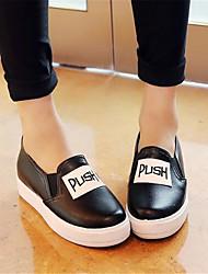 Women's Oxfords Winter Comfort PU Casual Low Heel