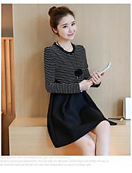 2016 hiver nouvelle version coréenne finition lactation long paragraphe fashion out buru yi