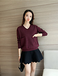 4061 # really making 2016 new winter sweater V-neck sweater