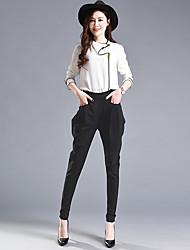 Signer le harem pantalons féminin printemps nouveau pantalon féminin pantalon radis taille harem pantalon nouveau pantalon féminin