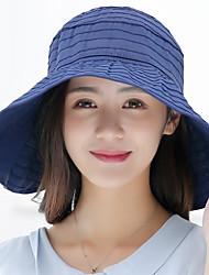 Women 's Summer Sunscreen Beach FoldableMountain Biking Baseball Hat Sports Pure Color Empty Cap