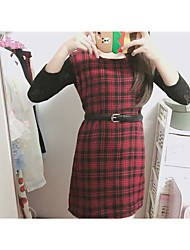 Sign Japanese plaid skirt! Soft sister