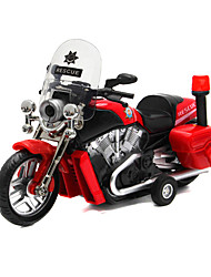Motorcycle Pull Back Vehicles 1:28 Metal Red White Blue