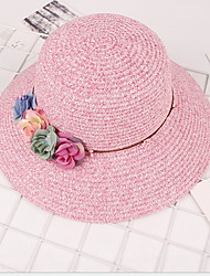 Flower Sun Hat Lady Beach Straw Hat Cap For Women