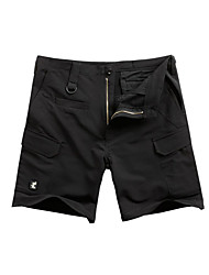 Unisex Shorts Hunting Breathable Comfortable Summer Black Brown Light Grey Green