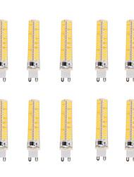 5W G9 G4 G8 BA15D Ampoules Maïs LED T 136 SMD 5730 400 lm Blanc Chaud Blanc Froid Gradable Décorative AC 100-240 AC 110-130 V 10 pièces